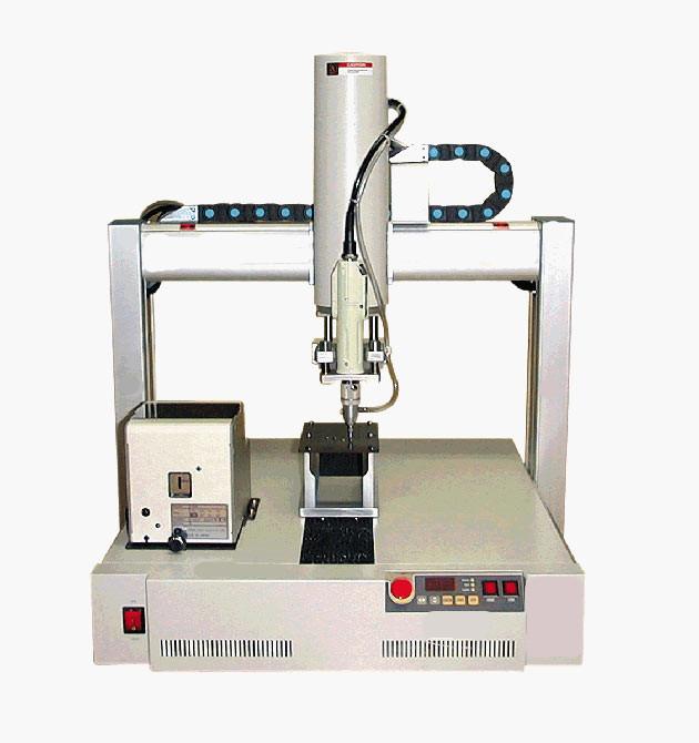 上海多司合作雅威达上银微型导轨点胶机
