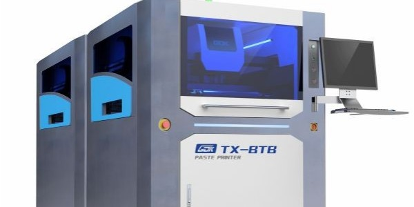 和田古德合作雅威达上银导轨案例-全自动锡膏印刷机