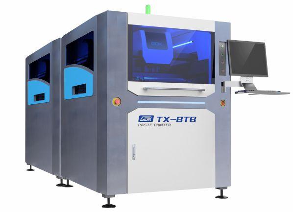 合作雅威达上银导轨案例-全自动锡膏印刷机