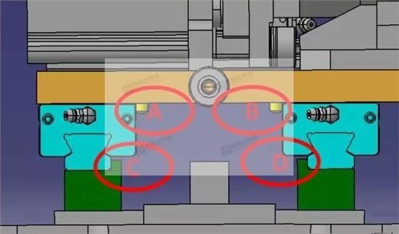 直线导轨安装定位方式