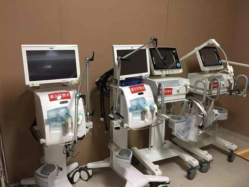上银微型导轨在医疗器械领域的具体应用-人工呼吸机