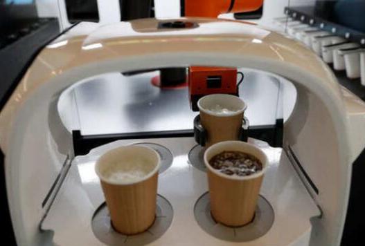 应用HIWIN上银微型导轨的咖啡机器人的兄弟