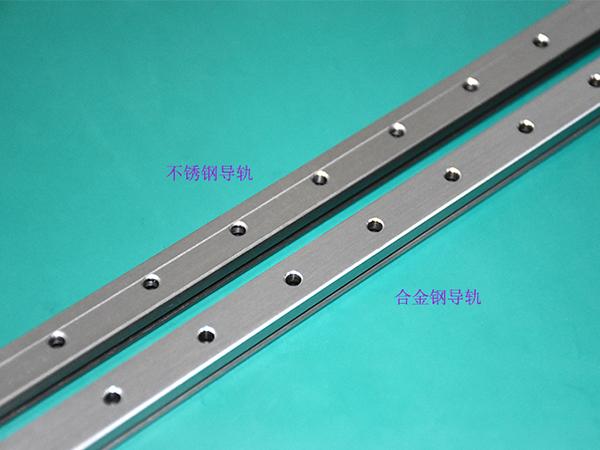 上银微型导轨材质:不锈钢与合金钢的区别3