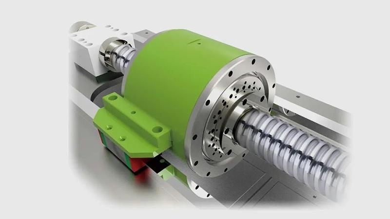 上银科技力矩电机+滚珠丝杠 Hyper Motion System