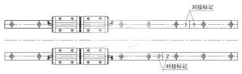 直线导轨的拼接方法二